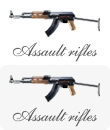 Miniature Assault Rifles