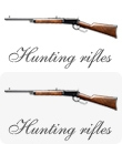 Miniature Hunting Rifles