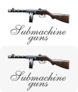 Miniature submachine guns