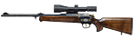 "Winchester R-93 Duo ""Hamed"" hunting rifle"