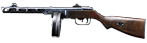 Shpagin Submachine Gun, M1941