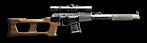 VSS Silent Sniper Rifle, M1987