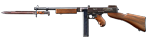 Military Thompson Submachine Gun, M1923