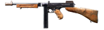 Thompson Submachine Gun  with a stick magazine, M1928А1
