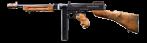 Пистолет-пулемет Томпсона 1928А1 с рожком