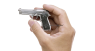 Beretta 92 F Pistol, M1976 miniature model in hand