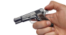 Browning High Power Pistol, M1935 miniature model in hand