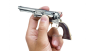 The Third Model Colt Dragoon Revolver M1848 miniature model in hend