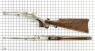 Кольт Navy 1861 с прикладом миниатюрная модель на масштабной сетке