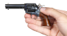 Colt Scout Revolver, short-barreled, M1873 miniature model in hand