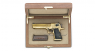 Magnum Desert Eagle Pistol miniature model in box