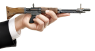 FG-42 Assault Rifle miniature model in hand