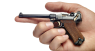 Navy Borchardt-Luger Pistol, M1904 miniature model in hand