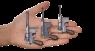 Mauser Bolo Pistol, M1920 miniature model in hand