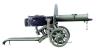 Maxim Heavy Machine Gun, M1910 miniature model