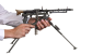 MG-34 Machine Gun, M1934 miniature model in hand