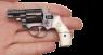 Смит-Вессон модель №10 миниатюрная модель в руке