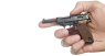 Walter Р-38 Pistol, M1938 miniature model in hand